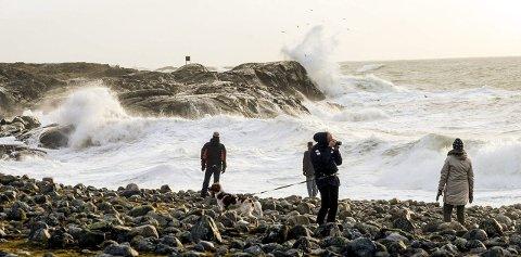 Vind og sjø på Mølen. (Arkivfoto: Terje Anthonsen)