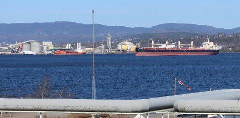 Med vedtaket i Grenlandsrådet om et prosjekt for opprydding av forurensning, trekker Fylkesmannen sin innsigelse mor reguleringsplan for industriutvikling på Frier Vest i Bamble kommune.15. desember 2020.