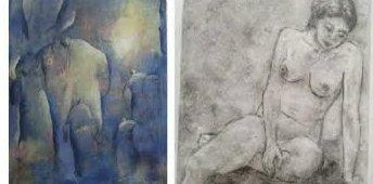 Variert: det blir et variert uttrykk når Klekkenmalerne åpner dørene til sin utstilling i april.