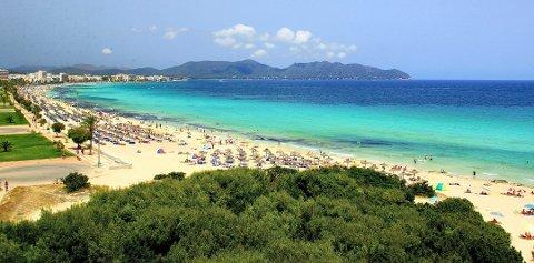 Nå kan det bli billigere å feriere på Mallorca igjen. Foto: Pressebilde/ANB
