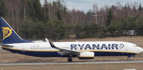 Ryanair vurderer å endre bagasjereglene nok en gang. Foto: Vidar Ruud, NTB scanpix/ANB