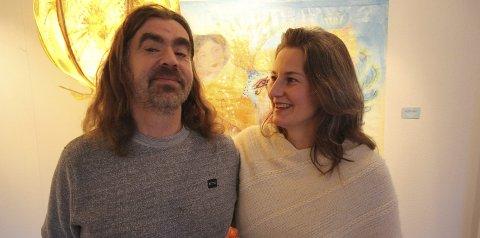 Se hit: Bjørnar Wetlesen og Linda Maria Lorvik ønsker med arrangementet å vise hvilke verdier Nesoddtangen gård skaper.