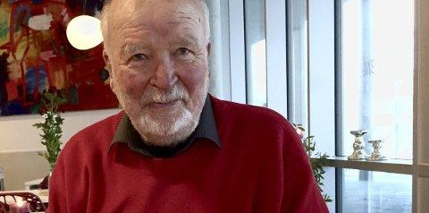 90 år: Jens-Olaf Skybak har levd et svært innholdsrikt liv. Og formen er stigende.Foto: Ann-Turi Ford