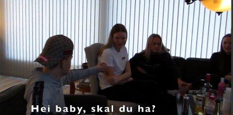 """""""Drikkepress"""" er bidraget fra Rognan ungdomsskole til Filmfest Salten,"""