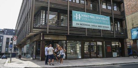 Lærere ved Hans Nielsen Hauge videregående i Fredrikstad må ta avstand fra homofilt samliv. Arkivfoto: Kent Inge Olsen
