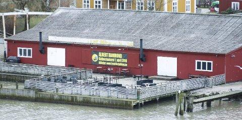 Nytt navn: Båthuset Scene blir det nye navnet på bygget som skal friskes opp litt med det første.Foto: Thomas H. Arntsen