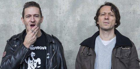 Duo med problemer: Kristopher Schau (til venstre) og Kyrre Holm Johannessen kommer med podcast i kveld.Foto: TV2