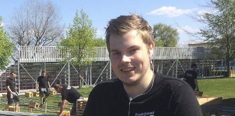 KLAR FOR CUP: Steinar Graarud ser frem til at Victor Tomas sin deltagelse i Fredrikstad Cup. Foto: Vidar Henriksen