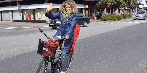 Fører an: Miljøvernrådgiver Anne Skauen håper at mange deltar på årets mobilitetsuke som starter 16. september.