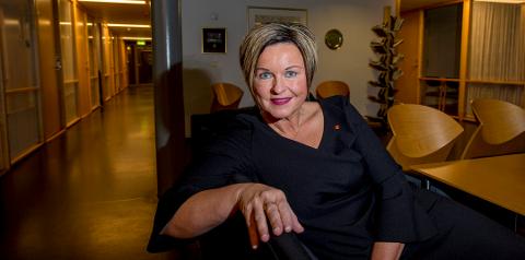 Rådmann Nina Tangnæs Grønvold er blitt Fredrikstad-innbygger og er kjæreste med en tidligere ansatt i kommunen.  (Arkivfoto: Erik Hagen)