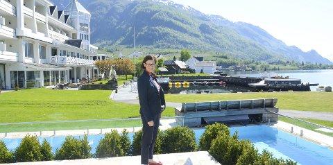 Hotel Ullensvang: Barbara Zanoni Utne meiner Airbnb-tilbydarar i nokre tilfelle har blitt konkurrentar til kommersiell overnatting.  - på urettferdige vilkår.  Arkivfoto: Kristin Eide.