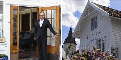 Hotellsjef: Ivar Neteland har stor tru på årets sesong ved Utne hotel.