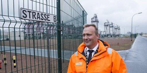 DIREKTØR: Alfred Skår Hansen er direktør for systemdrift hos Gassco.