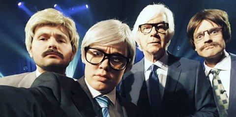 På tv: Wenche Synnøve Severinsen deltok på humorprogrammet «Kvelds» på NRK - med stor suksess.