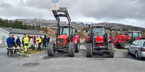 BONDEOPPRØR: Det blir stadig færre bønder på Helgeland, og nå krever gårdbrukerne høyere lønn for arbeidet de gjør.