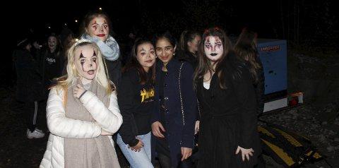 Halloween i Smørsteintunellen: Denne gjengen koste seg på halloweenfest i Smørsteintunellen.alle foto: Alexander Johnsen