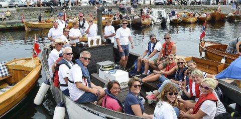 Andreplass: «FN 47 Ella» kom på andreplass i sin klasse. Båten er opprinnelig en dansk bunngangsjolle, og ble tatt ut av fiske i 2006. Hun ble 77 år 9. april.