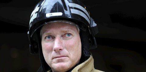 VURDERER: Brannsjef Kai Redalen vurderer å brenne ned Solstad i Tunhovd som en brannøvelse.