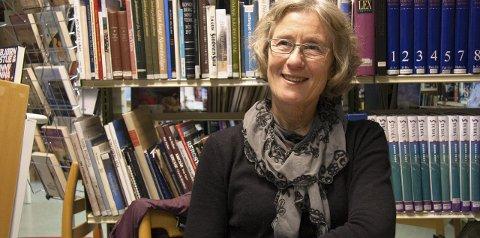 Arrangør: Biblioteksjef Elisabeth Bergstrøm inviterer til foredrag om klimaendringer i Sølvsalen 20. januar.