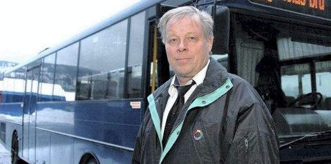 Thorolf Kasin, avdelingsleder for Nettbuss på Notodden.