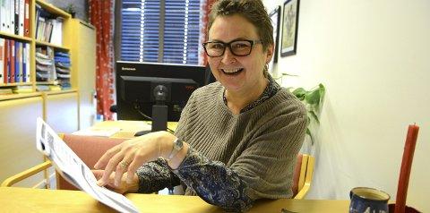 Aud Helliksen er fornøyd med at Kongsberg kommune har god kapasitet på barnehageplasser nå.