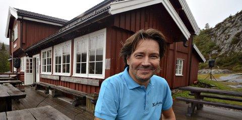 Knutehytta: Rune Henninen leter etter det neste vertskapet.