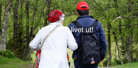 Samhandling med nærmiljøet gir livsglede for eldre