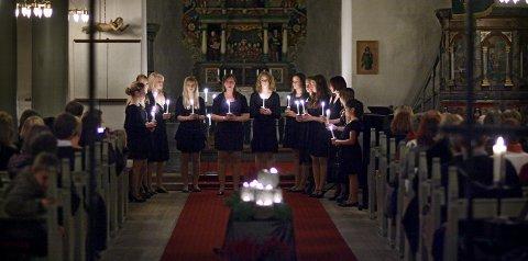 Nokturne: Kulturskolen inviterer til stemningsfull elevkonsert i Rygge kirke i kveld.