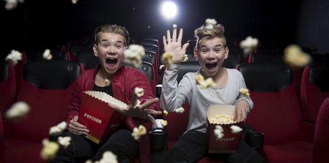 KJEMPEPOP: Filmen om Marcus & Martinus er utsolgt i beste visningstid på premieredagen fredag.