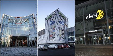HÅPET Å ÅPNE: Kjøpesentrene i Moss må holde stengt til og med 10. februar. Senterlederne i Moss respekterer avgjørelsen, men er frykter de økonomiske konsekvensene.