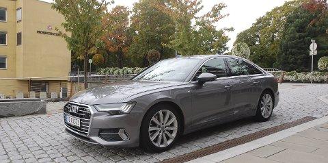 ELEGANT: Nye A6 er en svært typisk Audi, men likevel med et nytt og friskt drag.FOTO: ØYVIN SØRAA