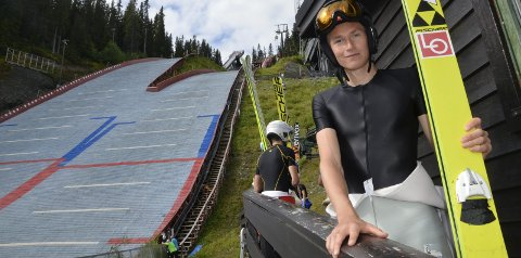 NY OPPGAVE: Robin Pedersen, Stålkam, var nest best av de norske i Summer Grand Prix sist helg. Nå bærer det til Japan.