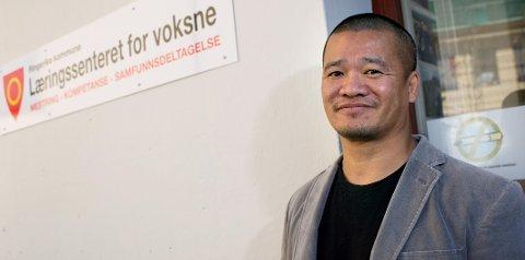 GIR SEG: Kim Ossum har vært rektor ved  Læringssenteret for voksne siden 2009. Nå overtar Geir Dahl stafettpinnen.