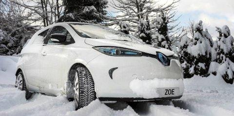 Zoe: Med større batteripakke er innslaget av rekkeviddeangst betydelig redusert. Foto: Renault