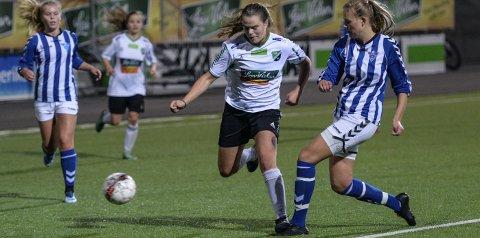 Maja Tryterud scoret ett mål og hadde en målgivende pasning da Tønsberg ble slått 13–0.