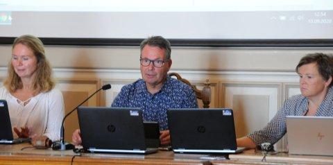 TETT PÅ: Knut Einar Aas er leder av utvalget for klima, miljø og byutvikling. Han er tett på saken om urnelund på Gulset.
