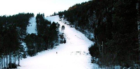 Måtte stenge: Mildværet de siste dagene har resultert i at Frei Alpinsenter søndag måtte stenge anlegget.