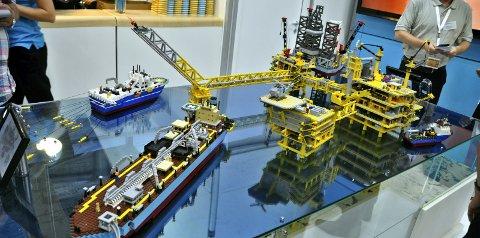 Lego som verktøy: Det er ikke bare barn som er glad i Lego. Ingeniører er også glad i byggeklossene.Arkivfoto