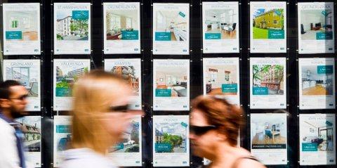 LETT Å BLI FOR IVRIG: I dagens opphetede boligmarked er det lett å bli for ivrig, men du slipper ikke unna hvis du taster feil. Foto: Vegard Wivestad Grøtt (NTB)