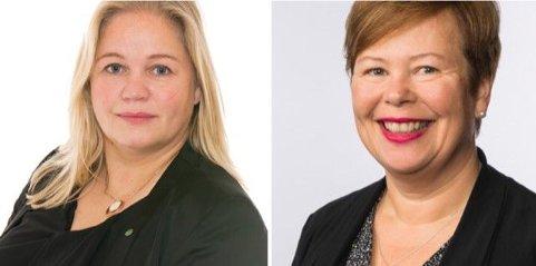 Kari Anne Bøkestad Andreassen og Siv Mossleth