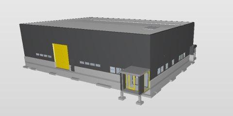 Slik blir det nye verkstedet i Bodø.