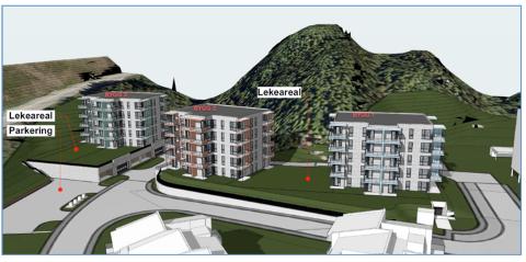 Planer om boliger i Hensvolldalen i Bodø.