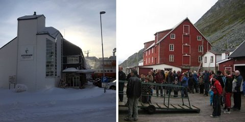 Nordkappmuseet og Foldalbruket Kjøllefjord er to av seks avdelinger som fra i dag holder stengt.
