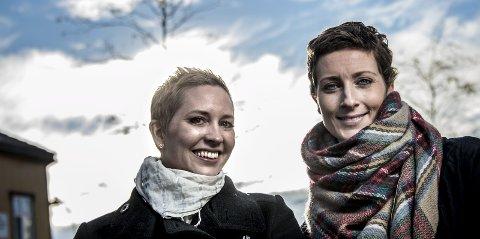 Venninner: Henriette Olausen og Ingunn Lieng ønsker å komme i kontakt med andre damer under 40 år som har brystkreft.
