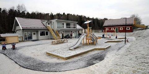 Best i test: Foreldrene til barna i Lillelia gårdsbarnehage på Veum gir barnehagen høyest score av alle i Fredrikstad. Det fremkommer av en ny oversikt fra Utdanningsdirektoratet.