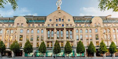 Nordiska Kompaniet er et stort luksuskjøpesenter i Stockholm. Det må se seg slått av fleskhungrige nordmenn på harry-handel i i Strömstad. Foto: NK.se