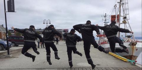 Norsk politimusikkfestival arrangeres i Fredrikstad denne helgen.