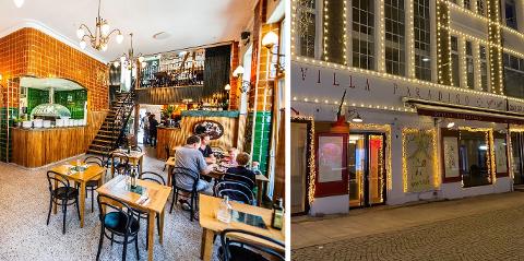Villa Paradiso går bra i Fredrikstad. På Gresen i Oslo legges restauranten ned. (Foto: Geir A. Carlsson / Avisa Oslo)