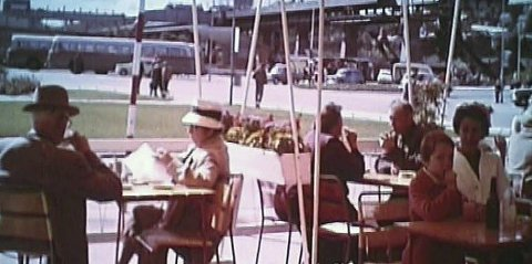 FRLIUFTEN 1963: Dette bildet er fra filmen «Fjellheisen 1963». Denne - og flere andre blir vist onsdag.