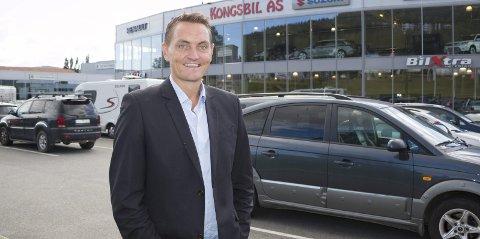 SATSER STORT: Henrik Mohn skal fortsatt være daglig leder i Kongsbil, men håper det nyetablerte selskapet «Henriks Car Solution» kan revolusjonere norsk bilbransje – og resultere i nye arbeidsplasser i løpet av et års tid.